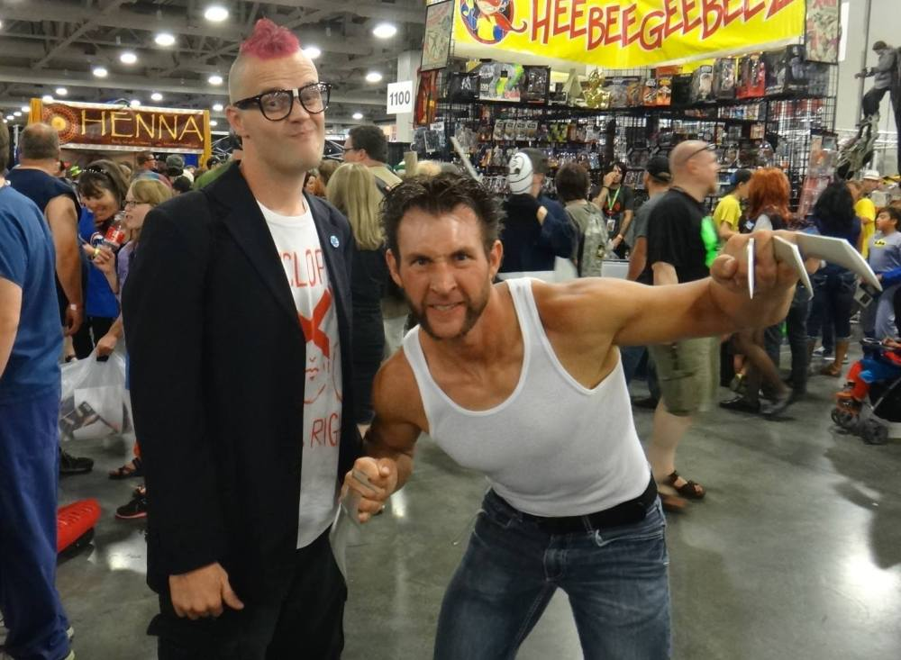 Kid Omega/Wolverine Cosplay