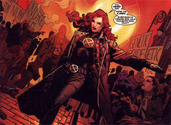 Jean and X-Men