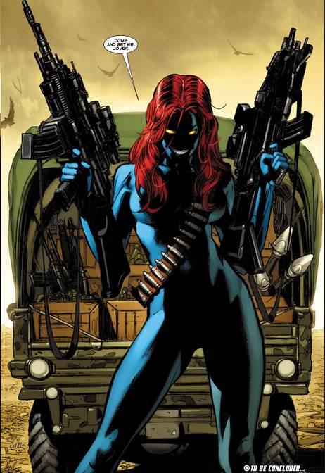 Don't mess with Mystique