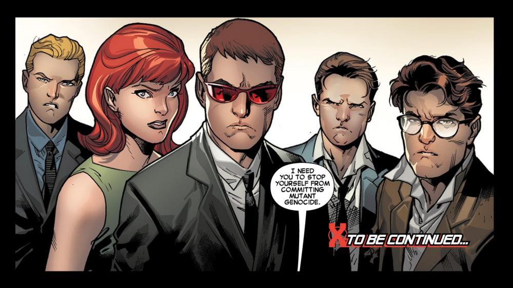 No Mutant civil war