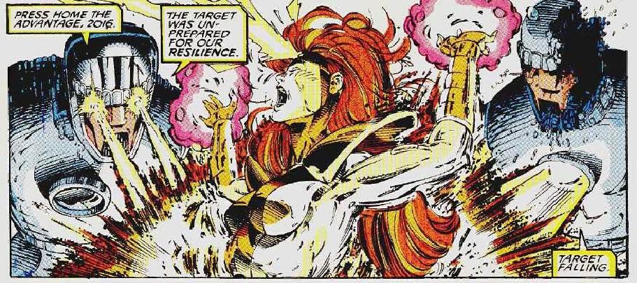 Sentinels kill Jean