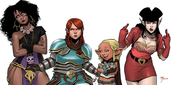 Rat Queens Header
