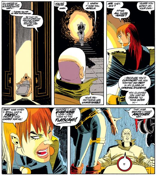 Xavier meets Amelia again