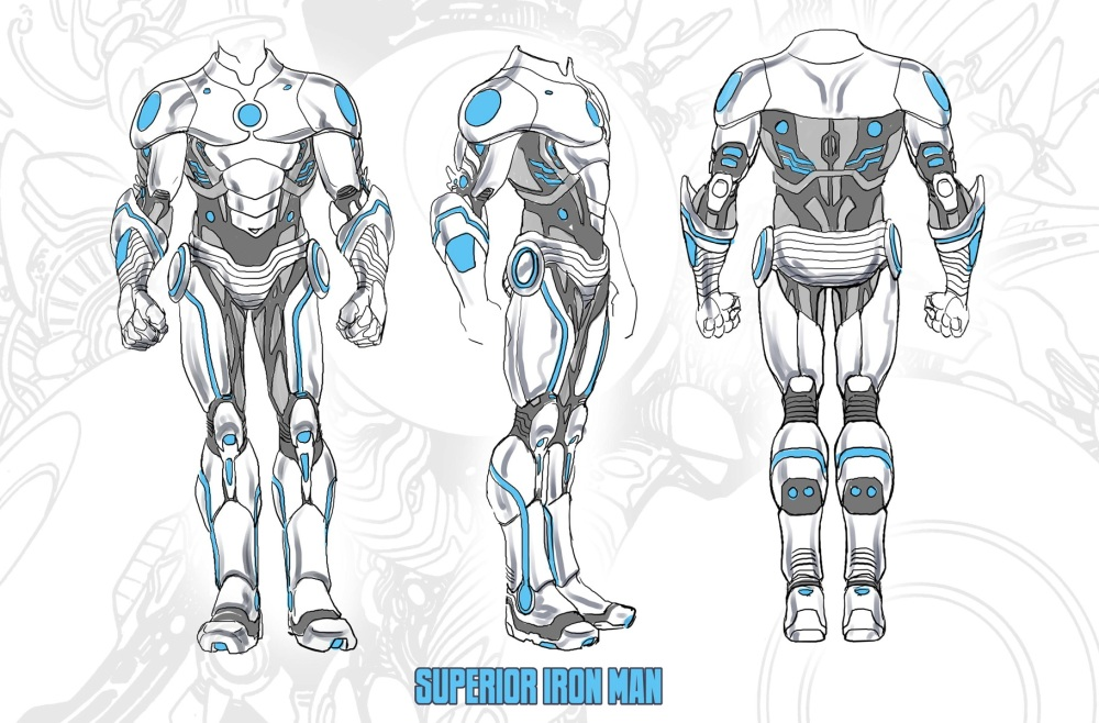 Superior Iron Man designs