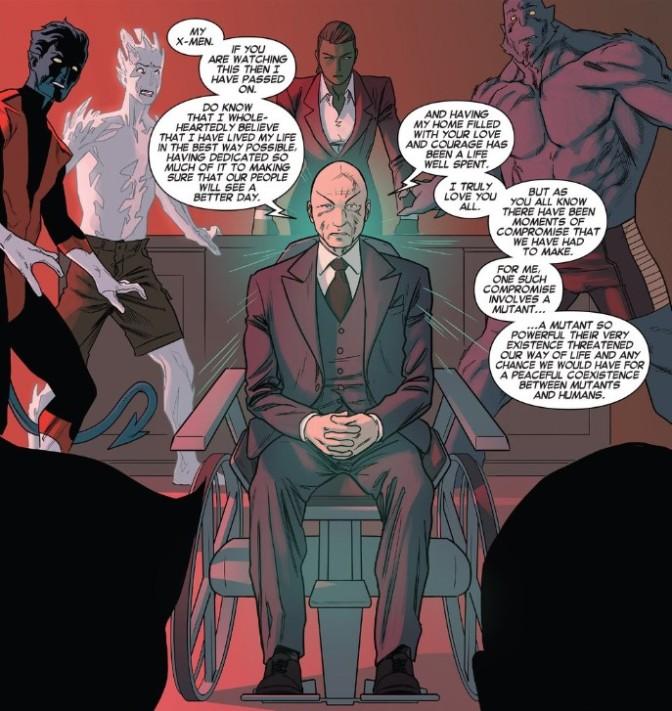 Xavier's secrets