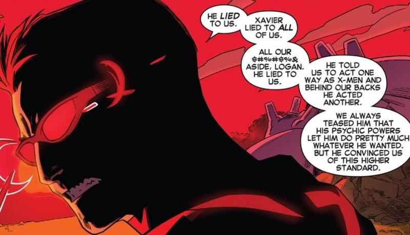 Cyclops fumes in Bendis' Uncanny X-Men