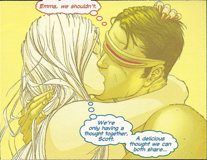 Delicious thought - Emma and Cyclops