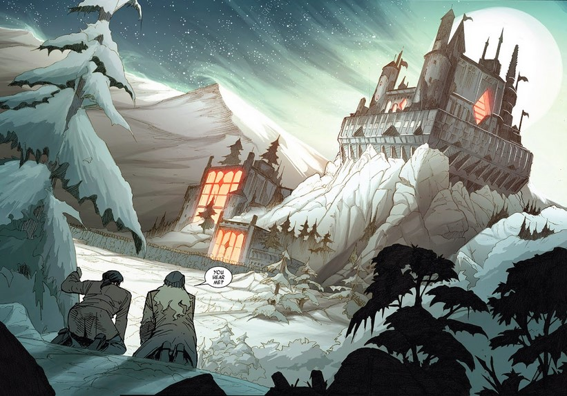 Sinister's castle