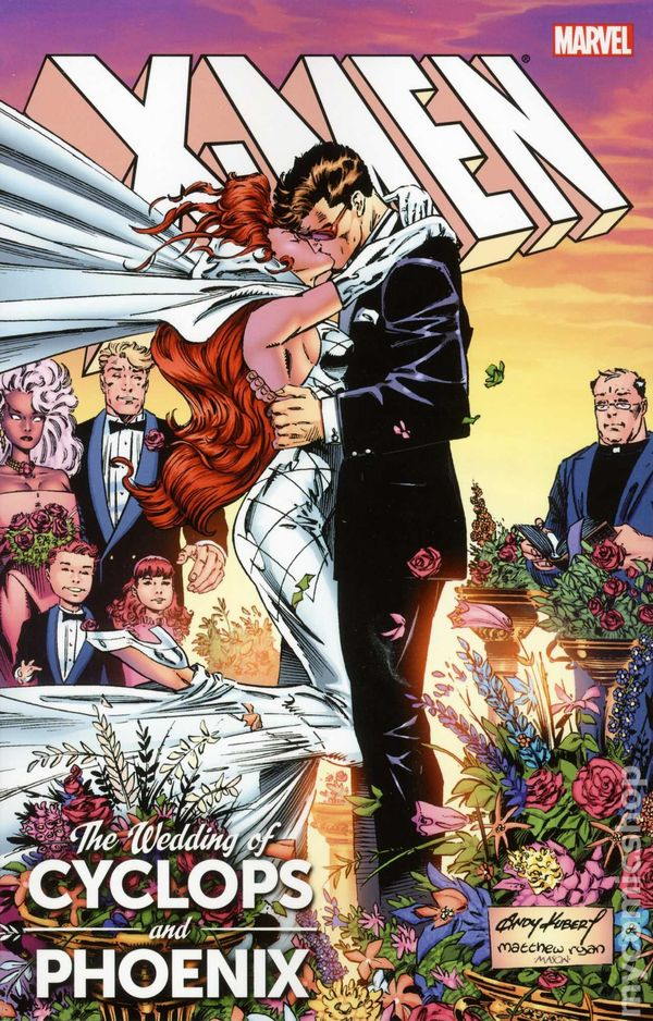 Wedding of Cyclops and Jean