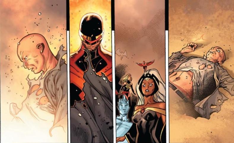Death of Xavier