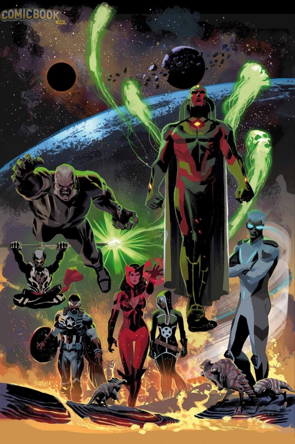 New Uncanny Avengers team