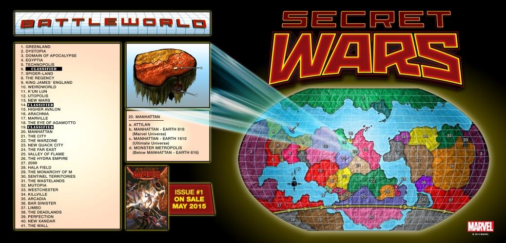 Battleworld Map