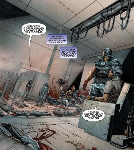 Psylocke's bloodlust