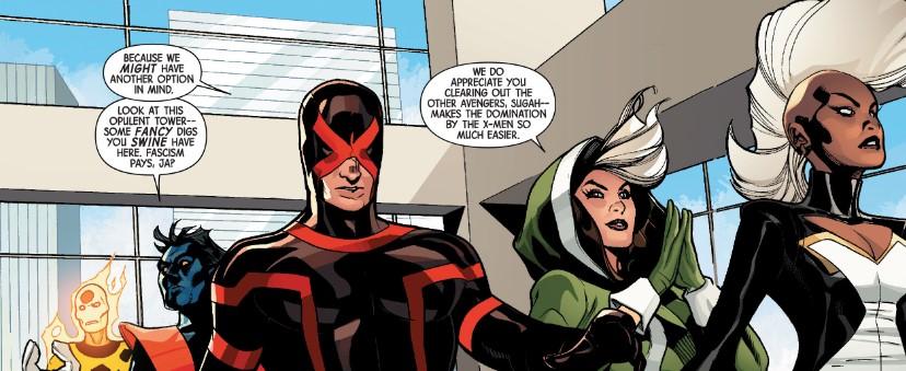 X-Men in AXIS