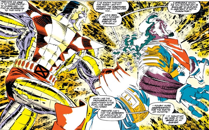 Colossus betrays the X-Men