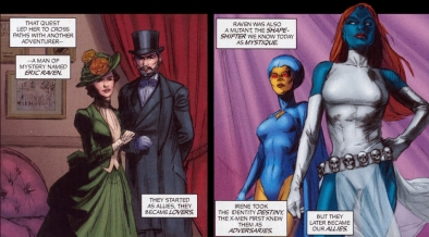 Image result for Marvel Fanfare #40 mystique and destiny