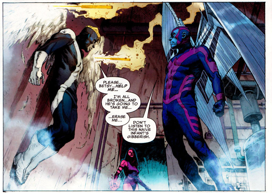 Psylocke and Archangel's Death persona