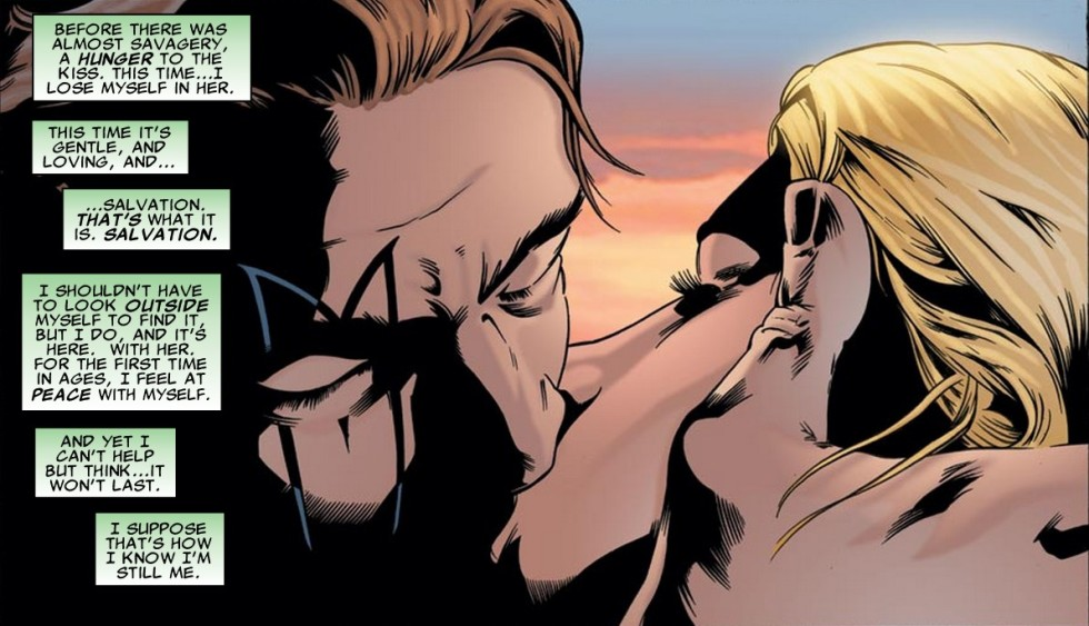 Madrox and Layla kiss