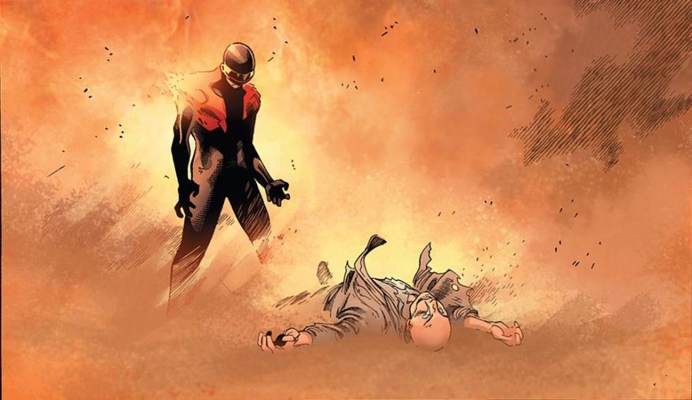 Xavier dies