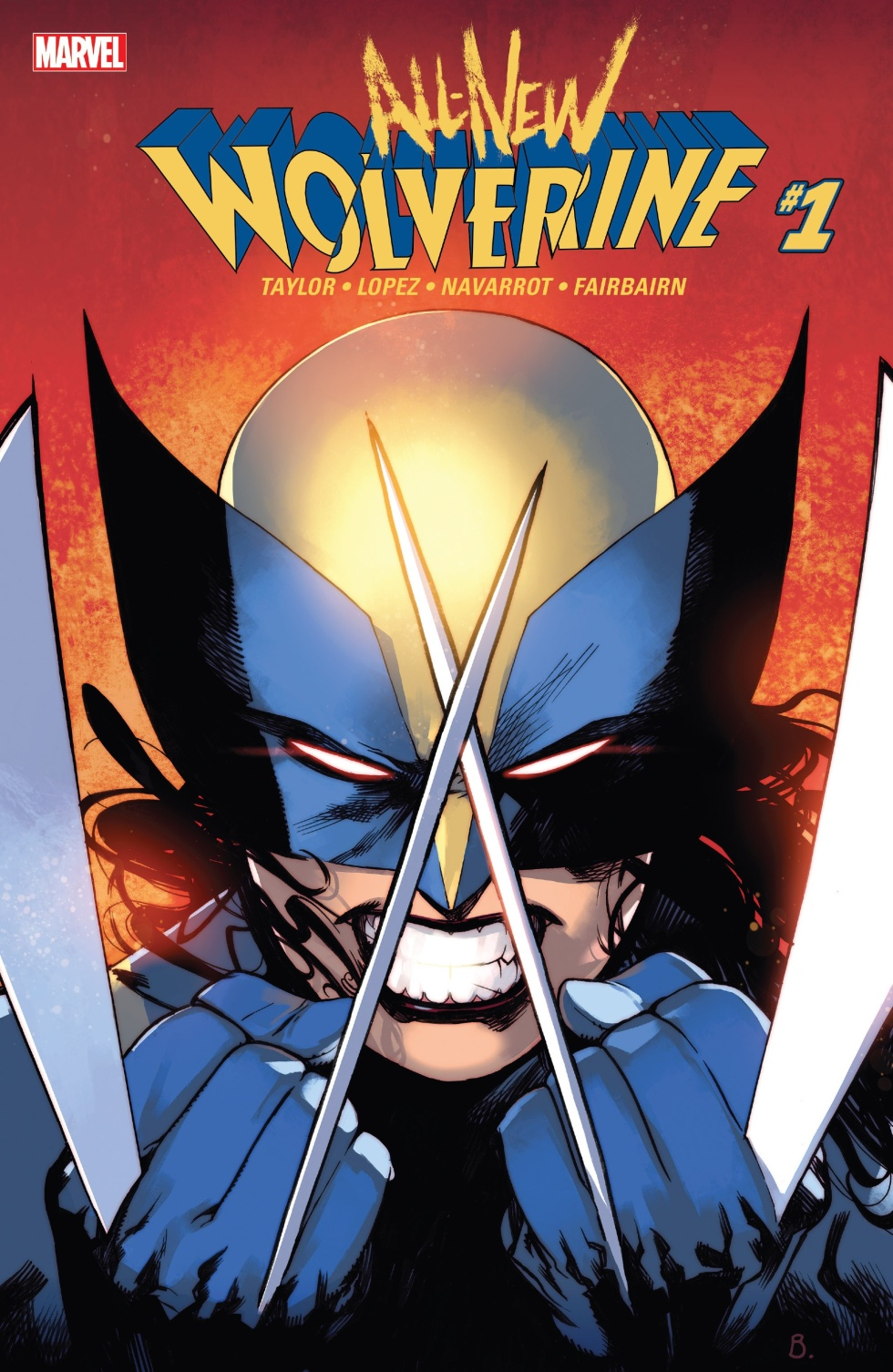 All-New Wolverine cover 1