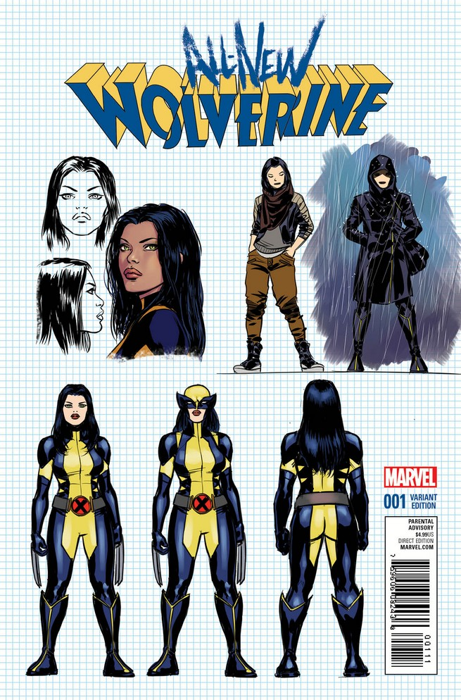 All-New Wolverine Designs