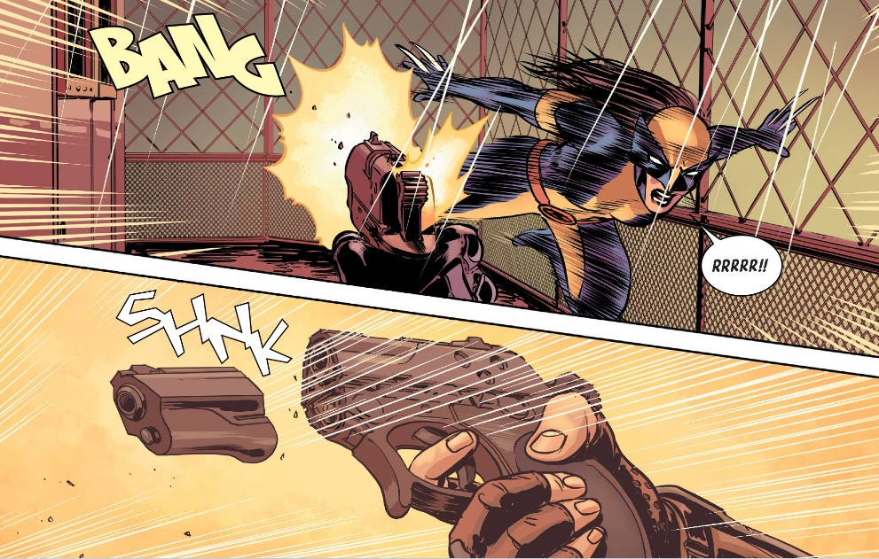All-New Wolverine In Action