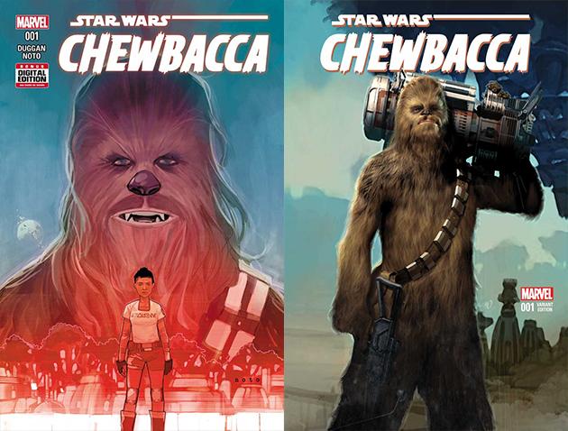Chewbacca 1 covers