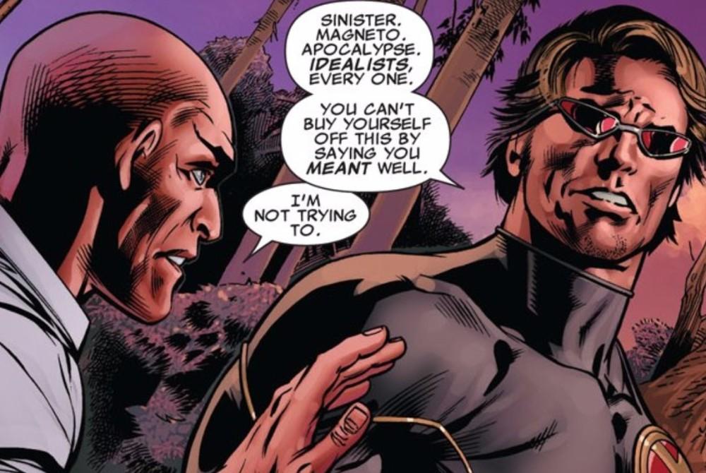 Cyclops Accuses Xavier