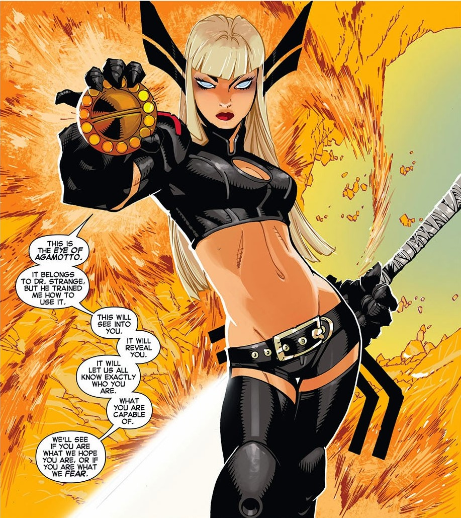 Magik Uncanny X-Men 29 Eye of Agamotto