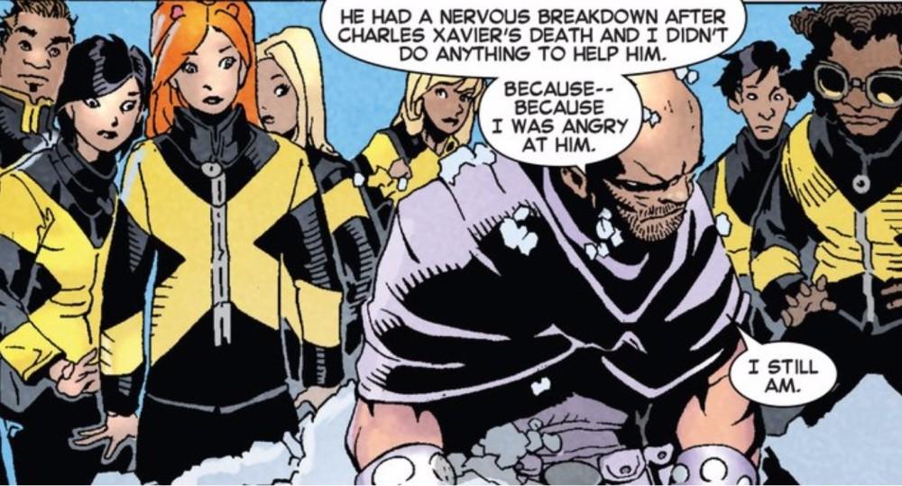 Magneto on Cyclops nervous breakdown
