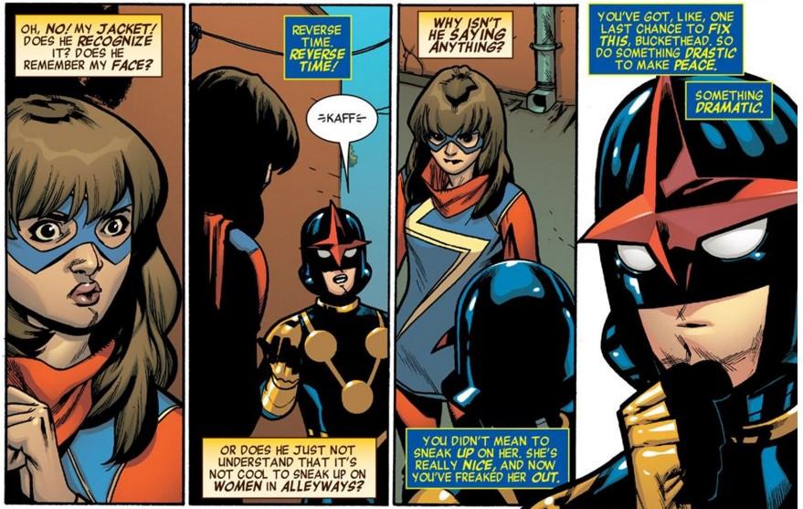 Ms. Marvel and Nova