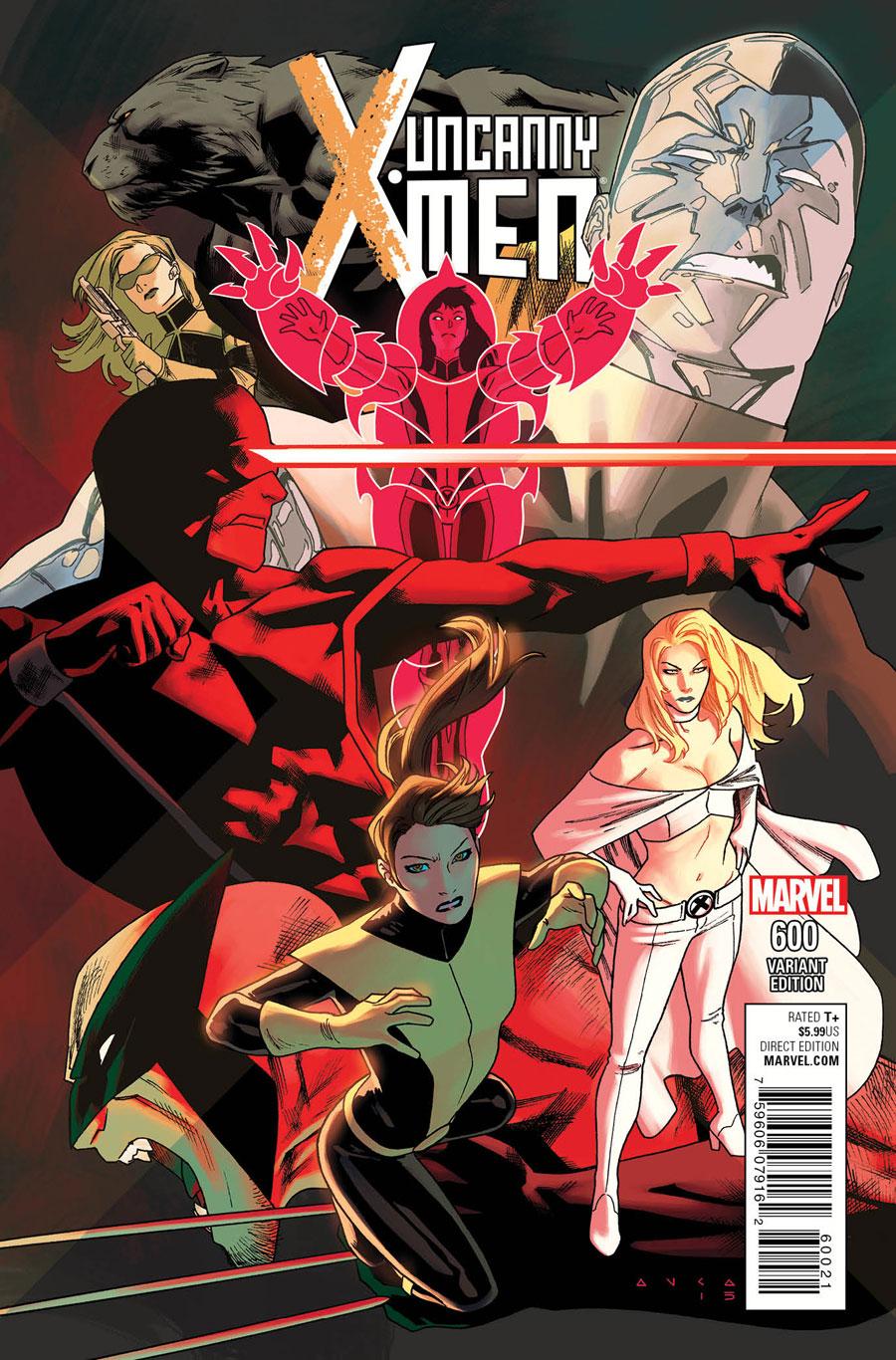 Uncanny X-Men 600 Kris Anka variant