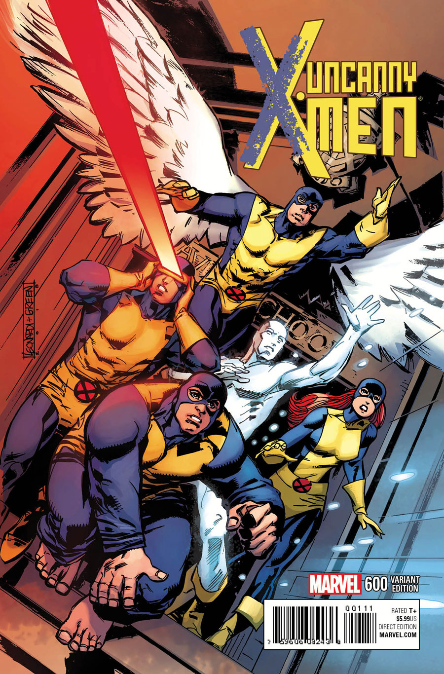 Uncanny X-Men 600 Rick Leonardi variant