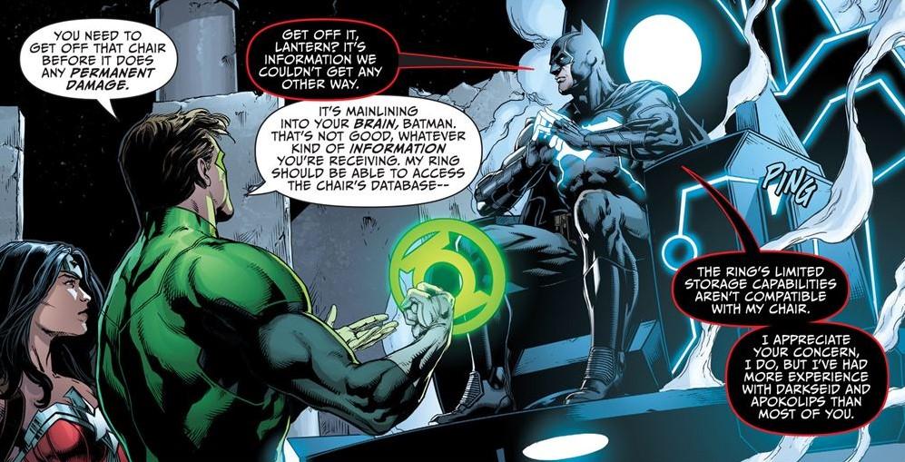 Batman God of Knowledge