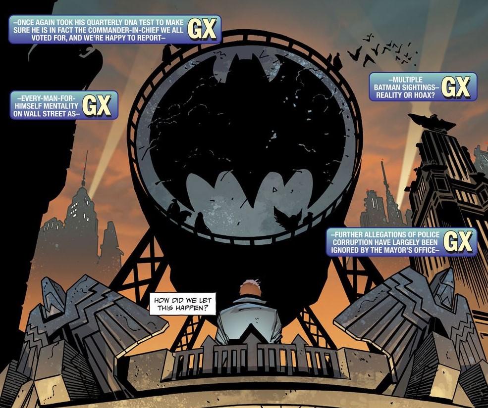 Battered Bat-Signal