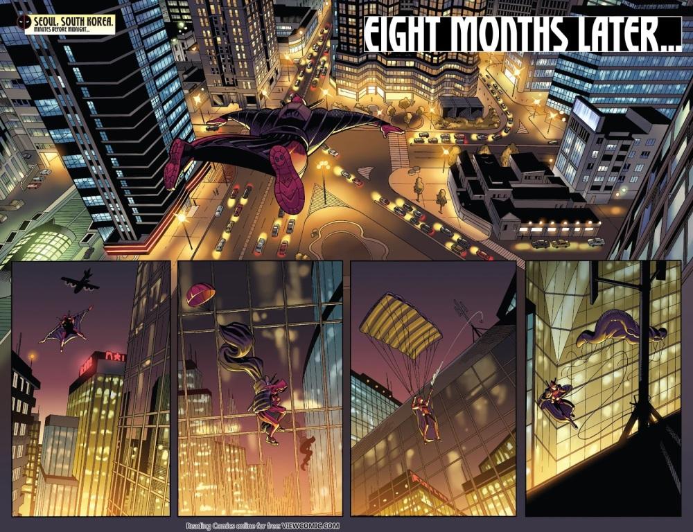Deadpool Eight Months Later