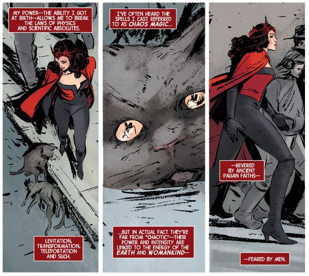 Scarlet Witch's powers