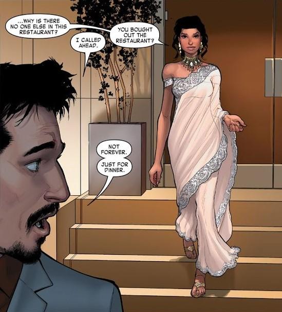 Amara Perera in Invincible Iron Man
