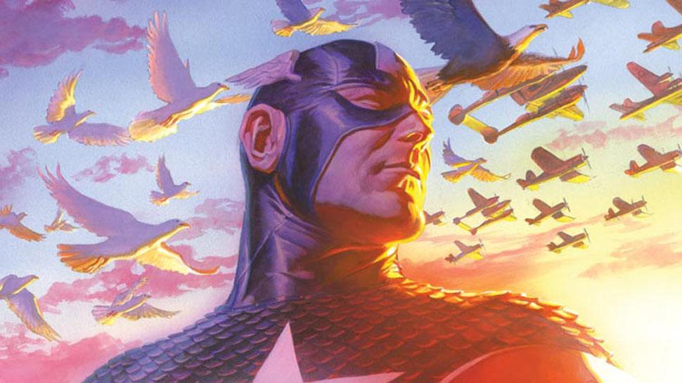 Captain America 75th anniversary