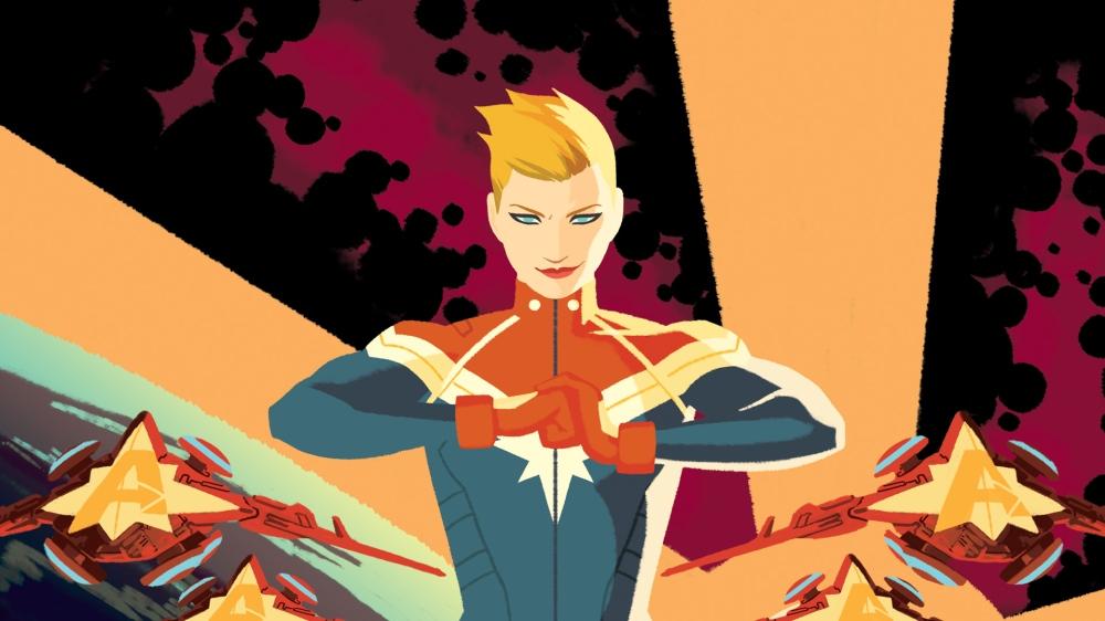 Captain Marvel SWORD