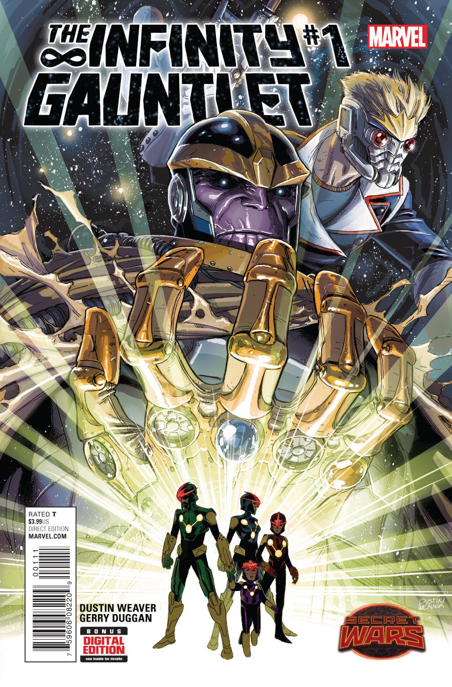 Infinity Gauntlet cover 1