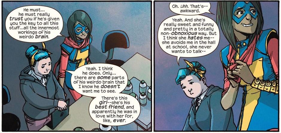 Ms. Marvel awkward
