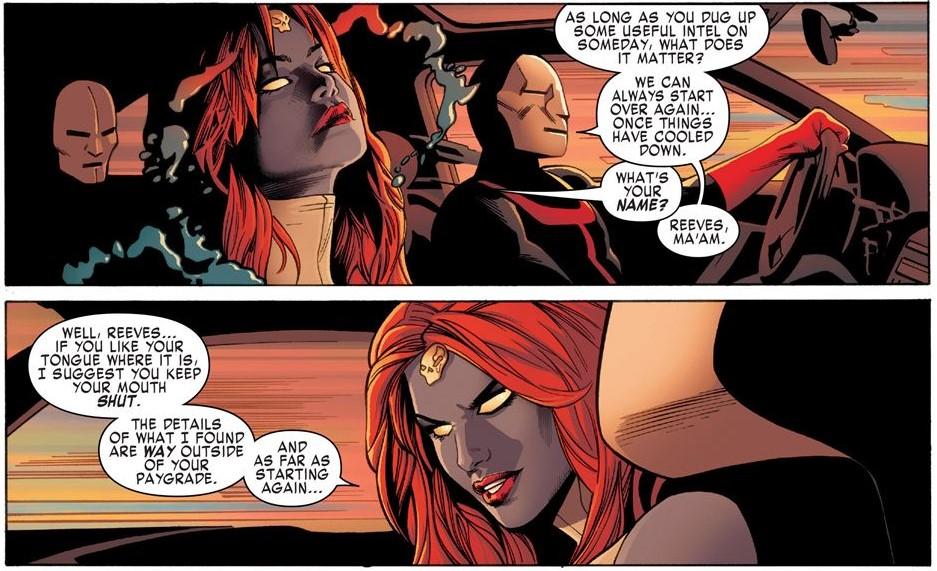 Mystique and Hellfire Club