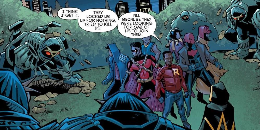 One Robin A Traitor