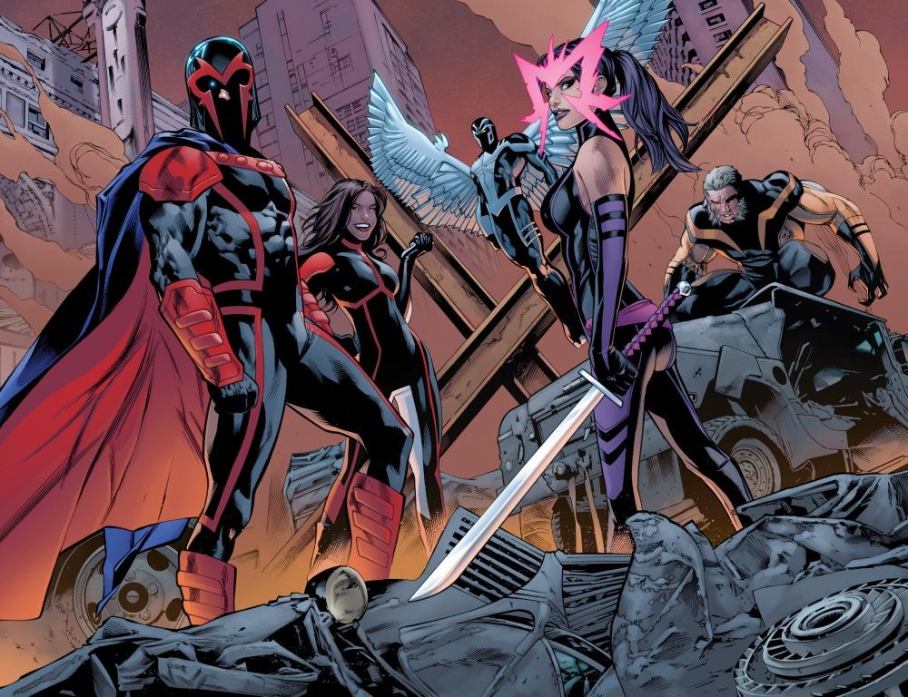 Uncanny X-Men (2016-) 001-013