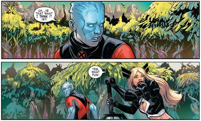 What Fun for Magik and Iceman