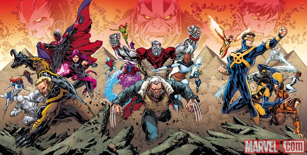 X-Men Apocalypse Cover Picture