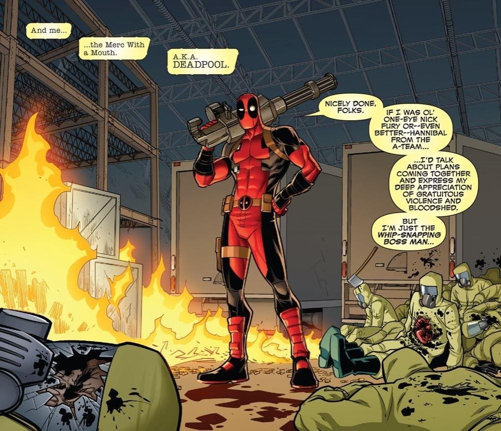 Deadpool the Boss