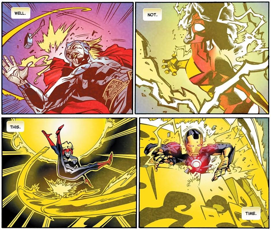 Legion Versus Avengers