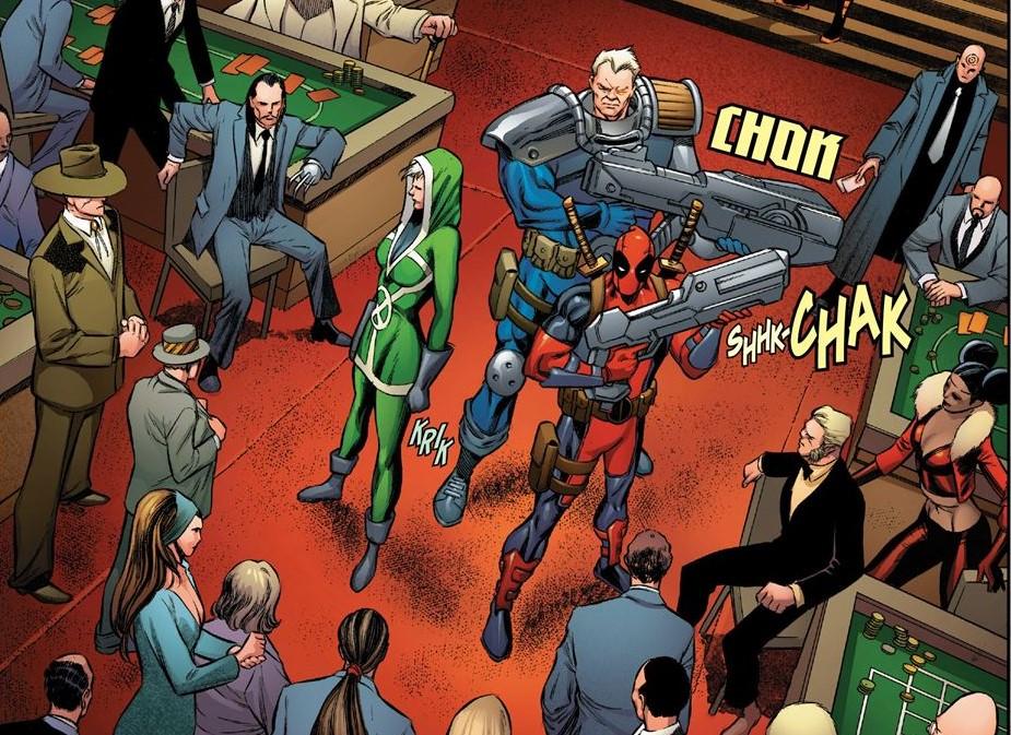 Unchaperoned X-Men